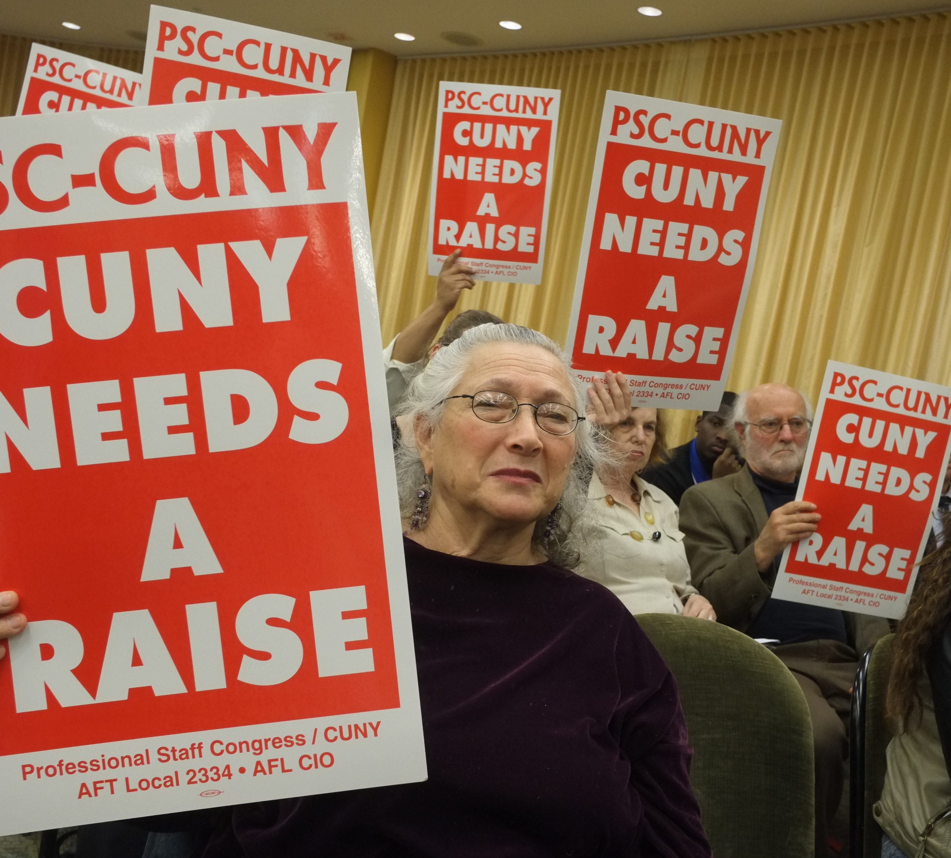 Members testify about the need for a fair contract -- Nov  24, 2014