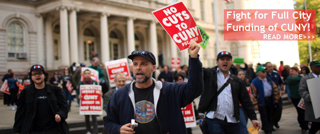 Fight for Full City Funding  of CUNY