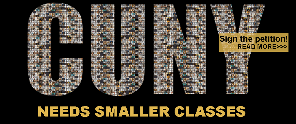 Sign the class size petition!