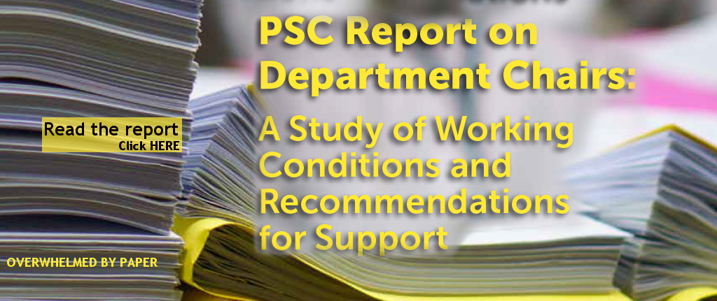 PSC report on chairs