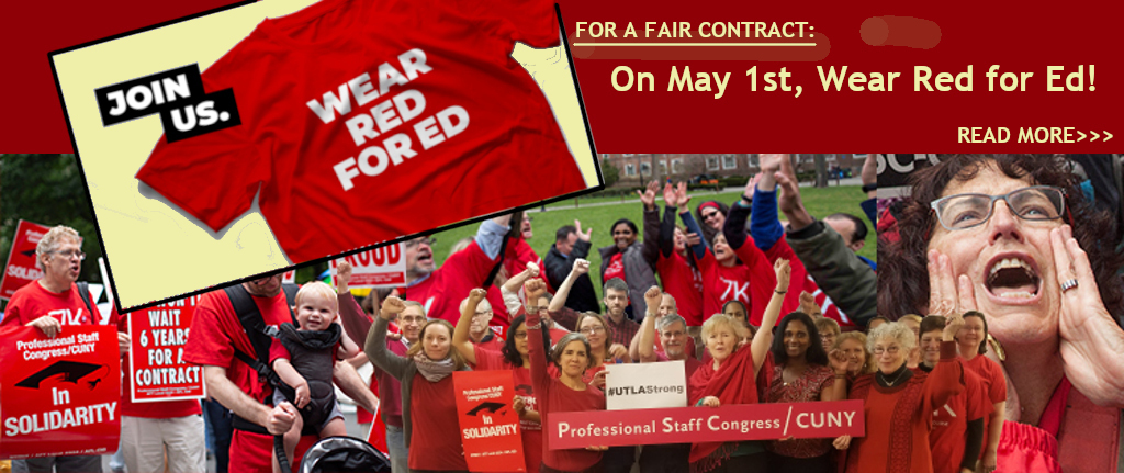 Red for Ed May Day