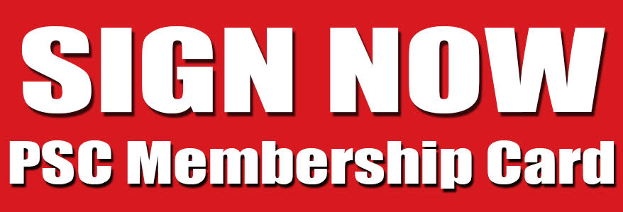 Sign now, the new membership card
