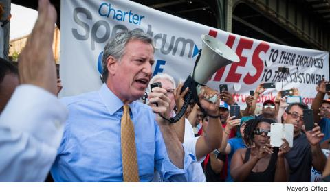 Bill de Blasio endorsement